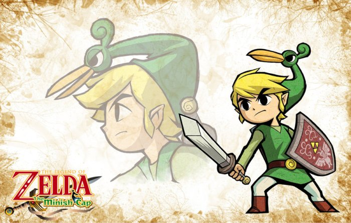 GBA Legend of Zelda: The Minish reCap